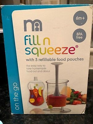 Mothercare Fill N Squeeze