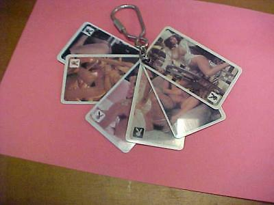 Key Chain-Vintage-Playboy-Six with 12 Different Girly Poses    #16000C