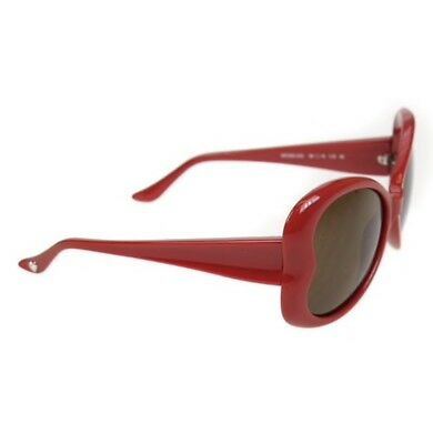dd160ad0c34 Moschino Red Heart Shaped Sunglasses MO598-05S Also Come With Free Patent  Case