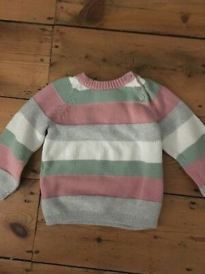 12 - 18 months H&M Jumper Multi Colour New without tags