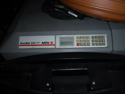 Agfa AccuSet 1000 Plus system with Developer