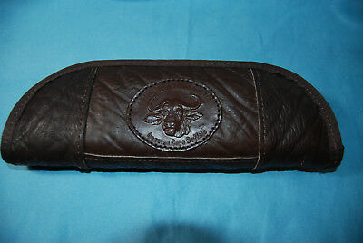 Knife Case made of Cape Buffalo Hide 11 Inches long