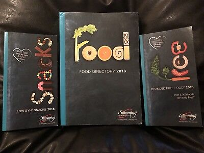 Slimming World Food Directory, Free Branded Foods & Low Syn Snacks Books - 2018