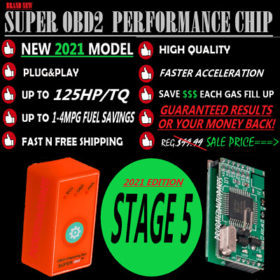 OBD2 Performance Chip Fit For TOYOTA CAMRY L LE SE XLE XSE 1996-2019-Fuel Saver