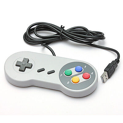 Mando Super Nintendo usb snes Classic Controller Gamepad Raspberry Windows PC