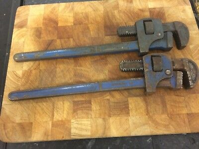 "2 x  18"" Stillson Pipe Wrench. RECORD STILSON"