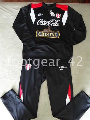 Umbro Official PERU World Cup Player Training Tracksuit Soccer Russia 2018  Shirt 0b4ceb8fc