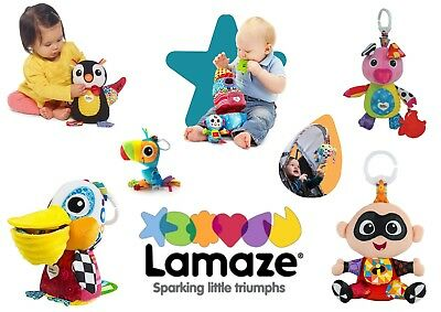 Lamaze Play and Grow Baby Child Pram Cot Activity Soft Toy BRAND NEW 12 Designs