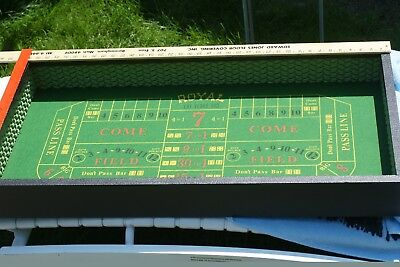 "Rare Casino Craps (Crisloid Plastics, Inc) Chips Directions ""Take Time for Fun"""