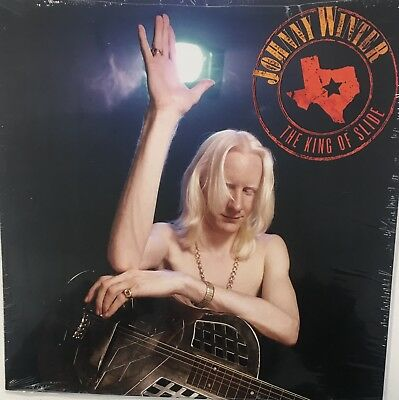 JOHNNY WINTER The King Of Slide SEALED LP Red Colored Vinyl RSD 2018