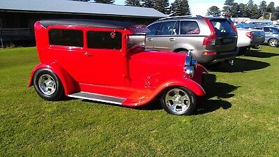 Ford Model A Hotrod Tudor 1928 350 T350 9 Inch A Model 2 Door Sedan Street Rod