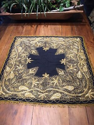Antique Gold Metalic Embroidered Alter Cloth