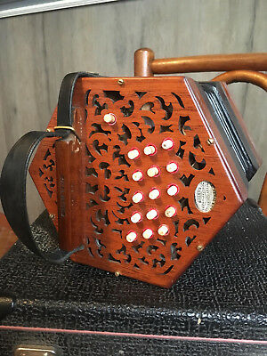 Concertina anglo Lachenal C/G 3 rows