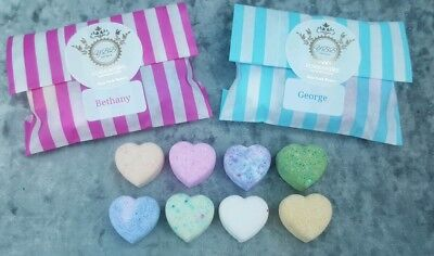 handmade mini bath bombs for kids ..personalised. ... 1 pack supplied