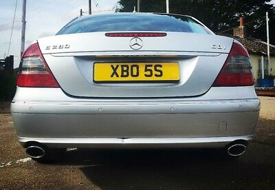 BOSS Private Number Plate