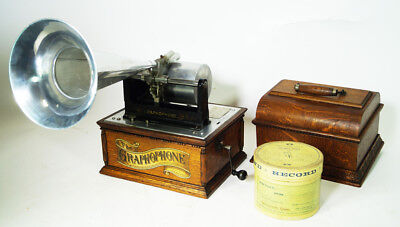 Columbia Concert Model Ag  Home Grand Phonographen Phonograph