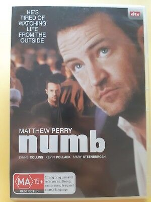 Numb [ Region 4 DVD ] FREE Next Day Post from NSW