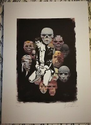 Gianpietro Casertano, Dylan Dog, signed and limited print