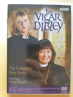 The Vicar Of Dibley : Series 1 [ Region 4 DVD ] FREE Next Day Post from NSW