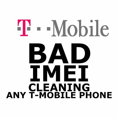 T-Mobile Imei Clean & Fix Service Iphone 4/5/6/7/8/x/xs & Samsung (Fast 1-5 Day)
