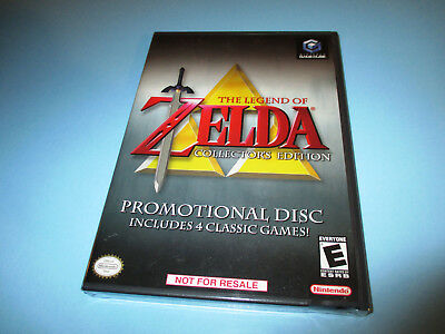 The Legend of Zelda Collector's Edition (Nintendo GameCube) NEW & Sealed!
