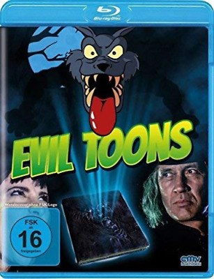 Ray,fred Olen-Evil Toons (Blu-Ray) - (German Import) (Uk Import) Blu-Ray New