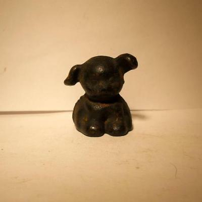 Cast Iron Pup paper weight