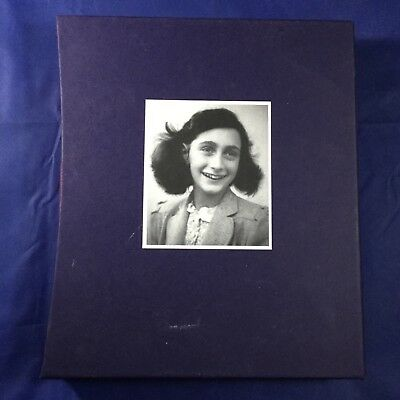Anne Frank: The Diary of a Young Girl - HC in Slipcase - Folio Society / Viking