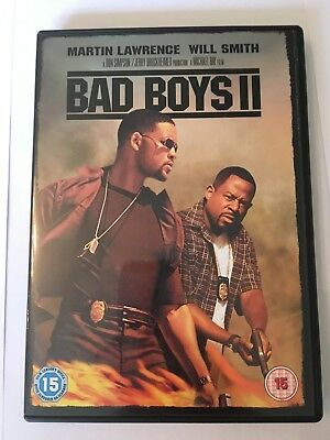 Bad Boys 2 DVD (Will Smith) New & Sealed 2 Disc Edition REGION 2