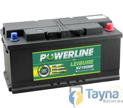 XV190MF Powerline Batterie Camping Bateau 12V