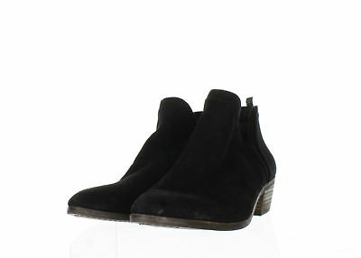 64be2912547db SAM EDELMAN PETTY Womens Black Suede Low Ankle Boots Size 8 -  20.99 ...