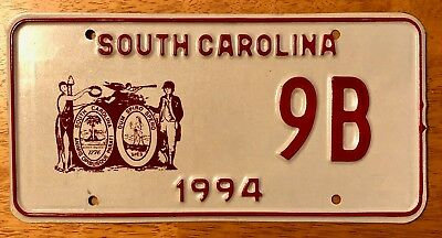 RARE Low Number South Carolina License Plate Political Government Official