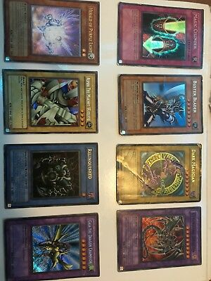 Yugioh Card Collection with Holo foils, Rares, and Commons