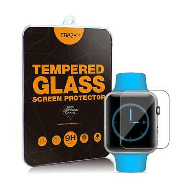 Premium Tempered Glass Screen Protector For Apple iWatch
