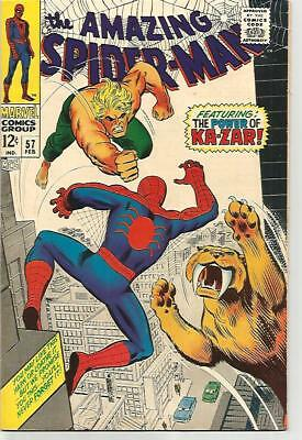AMAZING SPIDER-MAN # 57   Beautiful Early Silver Age Nice VF/NM9.0