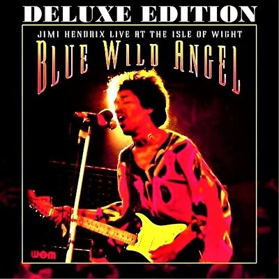 JIMI HENDRIX - 2 CD's + DVD - BLUE WILD ANGEL - LIVE AT THE ISLE OF WIGHT