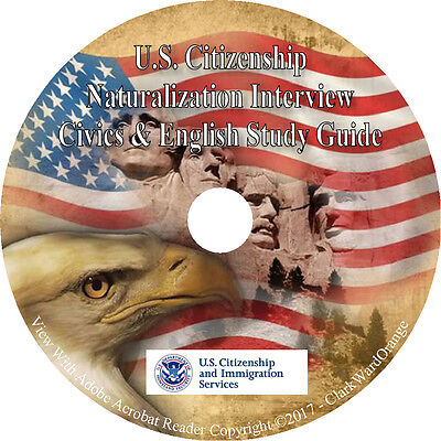 US CITIZENSHIP TEST Study Guide 2019(Updated for 2019 Questions