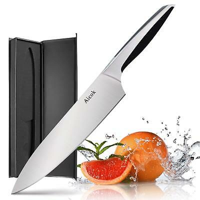 Chef' Knife - Aicok Pro Kitchen Knife 8 Inch Chef Stainless Steel KF-F8002