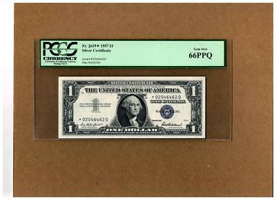 "$1.00 FR#1619* Silver Certificate""""KEY to the SERIES""""(STAR-D)~GEM~PCGS-66PPQ!!"