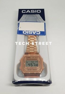 Casio Classic Digital Watch-A168WA-1YES-Rose Gold -Perfect Valentines Gift (box)