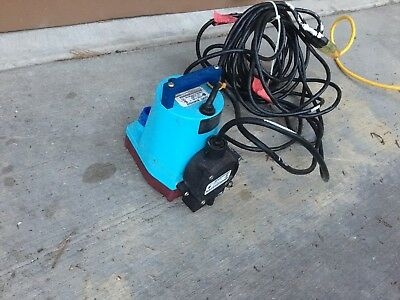 Little Giant 505902 5-MSP-18 1/6HP Utility Pump With RS-5LL Auto Switch Working