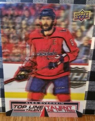 2018-19 Upper Deck Tim Hortons Hockey Top Line Talent TLT-9 Alex Ovechkin 3