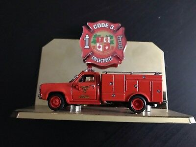 Code 3 Collectibles Los Angeles County Fire Dept. Rescue Squad 51