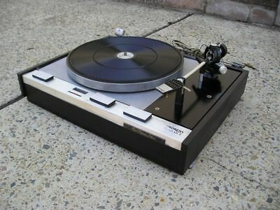 Thorens TD125 MK11 3-Speed Belt-Drive Suspended Chassis Turntable (1968-1975)