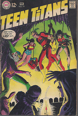 Teen Titans #19 VG+  Silver Age  February 1969  Speedy Begins