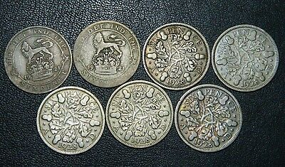 7 Silver Great Britain sixpence #4