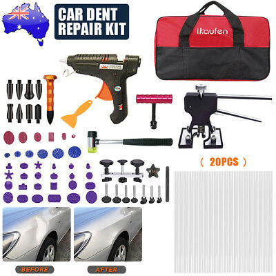 81x Paintless Dent Repair Car Body Hail Damage Remover Puller Lifter Tools Kit