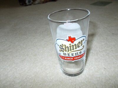 "Shiner Beer 4"" Shell Glass-New"
