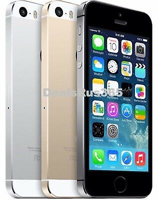 "Apple iPhone 5S ""Factory Unlocked"" 16GB 32GB 64GB 4G LTE iOS Smartphone"