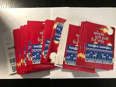 Lot of 39 Toys R Us GIFT CARDs Collectible Babies'R'Us Babies R Us Toys R Us